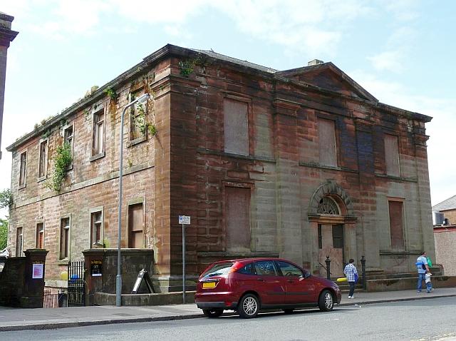 The disused Erskine Church