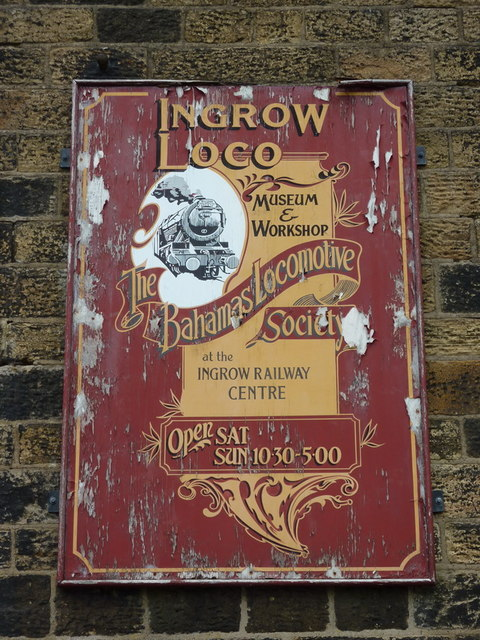 Ingrow West Station, Sign