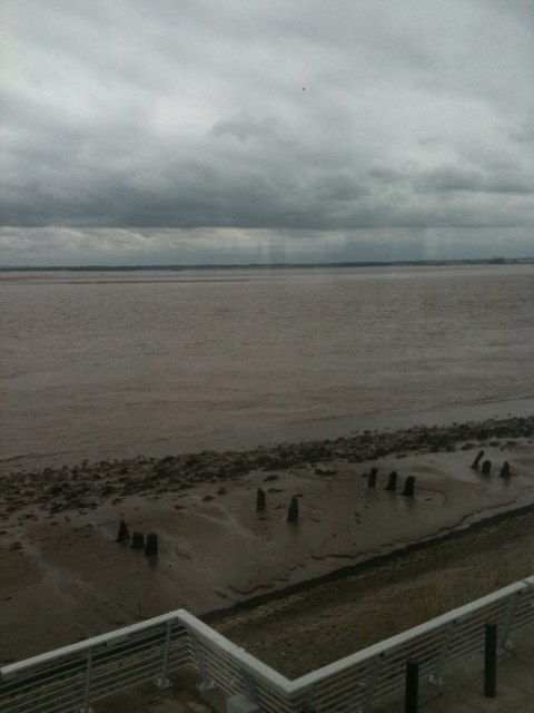 Sandbanks and low tide, the Humber