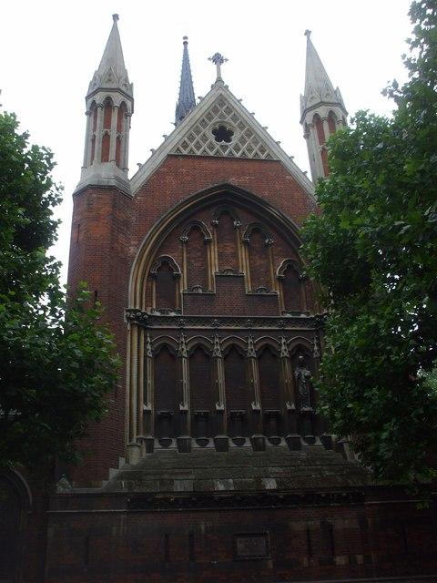 Parish church of St Cuthbert with St Matthias, Philbeach Gdns, London