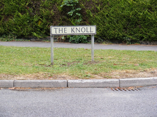The Knoll sign