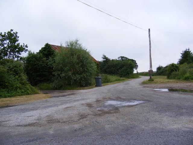 Entrance to Hatherleigh Farm & Rookery Farm Cottage