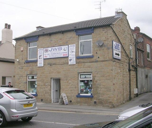 JWS Sales & TV Repairs - Castleford Road