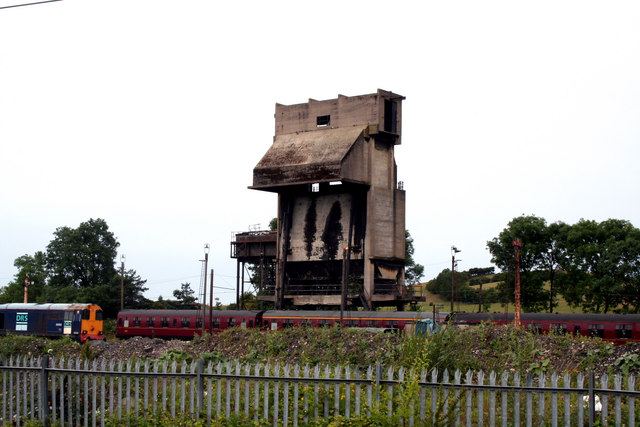 Carnforth:  'Steamtown' coaling plant
