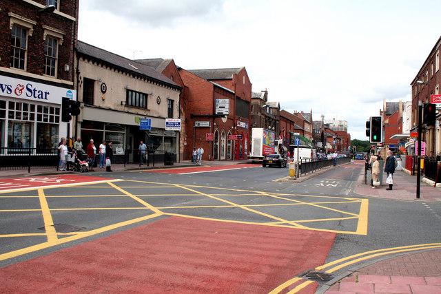 Carlisle:  Lowther Street