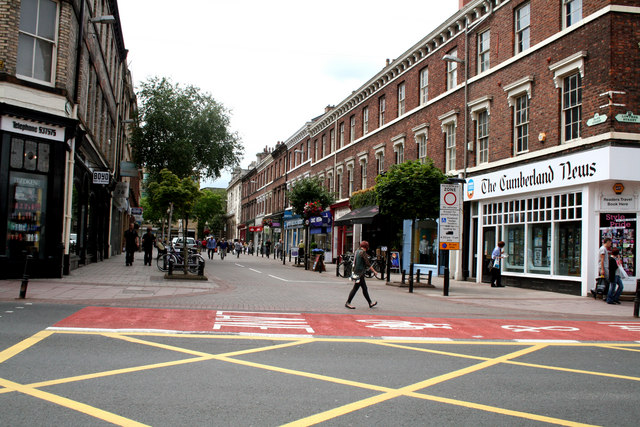 Carlisle:  Bank Street