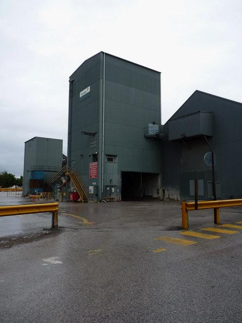 Tarmac's concrete plant at Bredbury