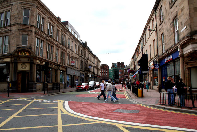 Carlisle:  Devonshire Street