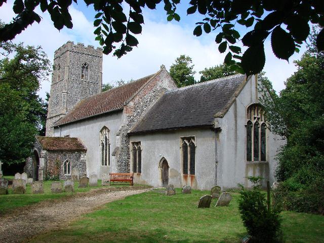 Bedingfield St. Mary's church