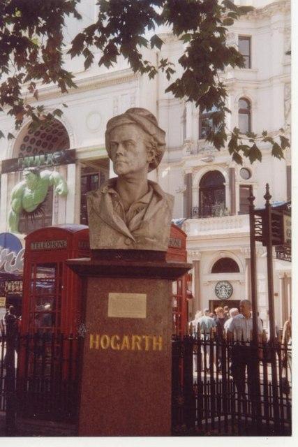 Hogarth Bust