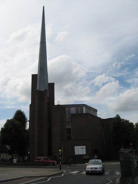 St Saviour's Church , opposite Warwick Avenue Underground Station