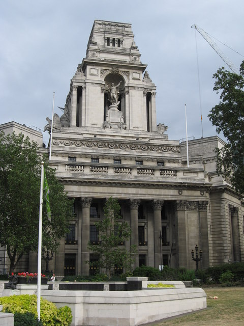 Former Port of London Authority Building, Trinity Square Gardens