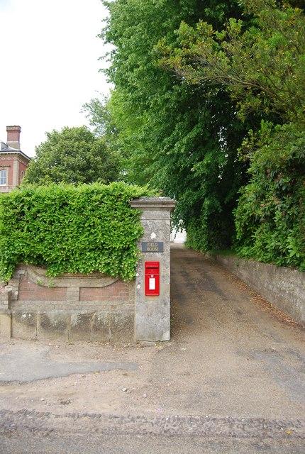 Postbox, Nevill Park