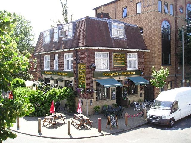 Flanagans Bar Pub, Battersea