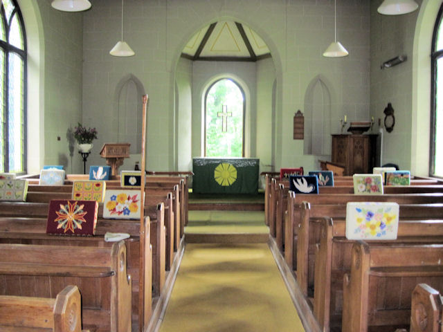 Swaby church interior