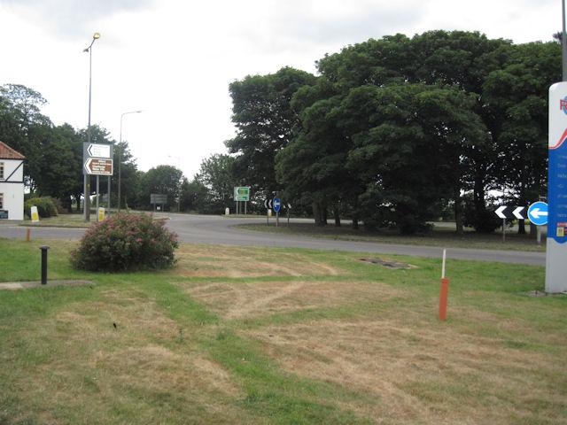 Ulceby Cross roundabout