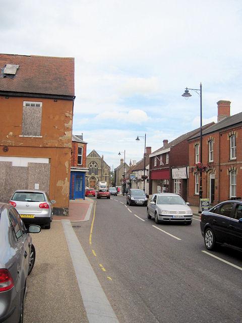 Main street of Spilsby