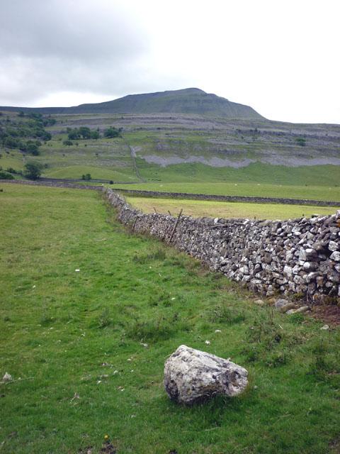 Dry stone wall, Oddies Lane, Chapel-le-Dale