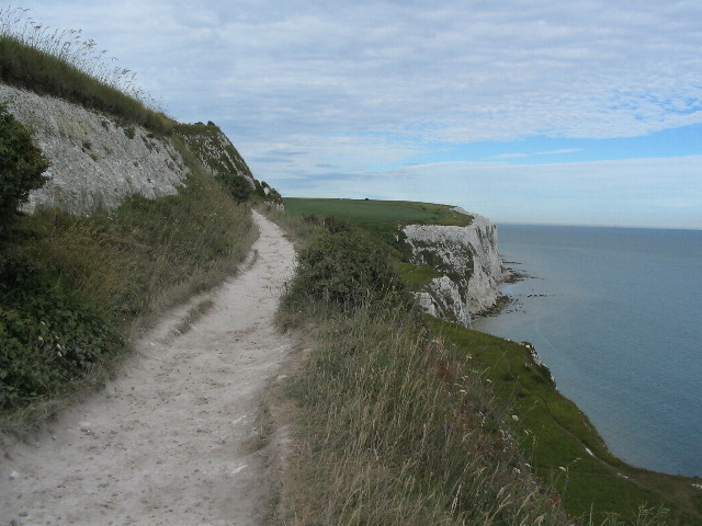 Clifftop footpath, Dover