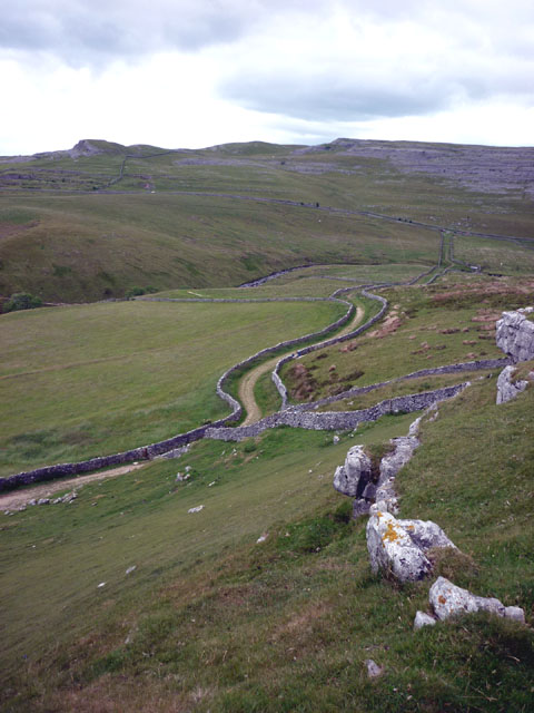 The track to Kingsdale Beck
