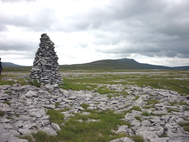 Cairn above Twisleton Scars