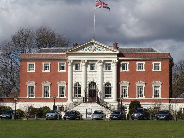 Warrington's fine Town Hall