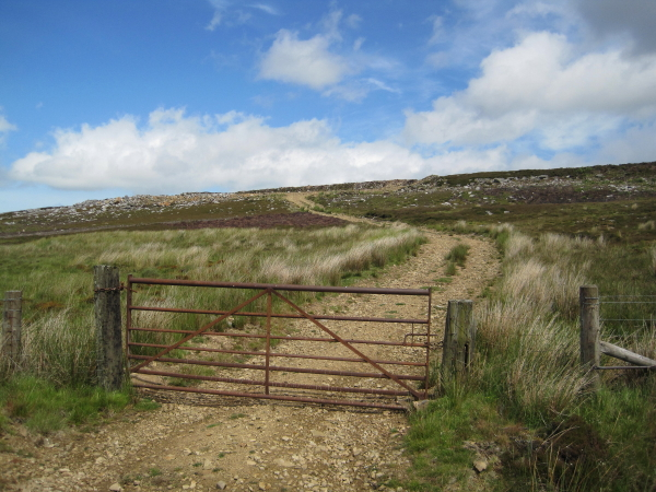 Track to Disused Quarry
