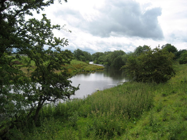River Tees below Newsham Upstream