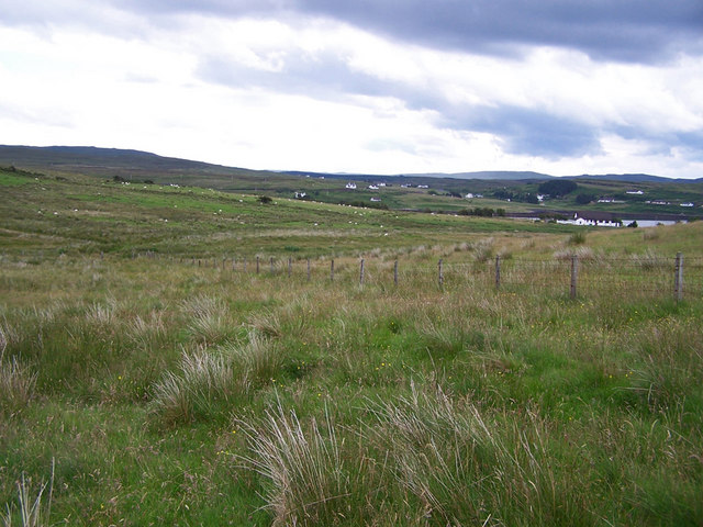 Grazing land at Feorlig