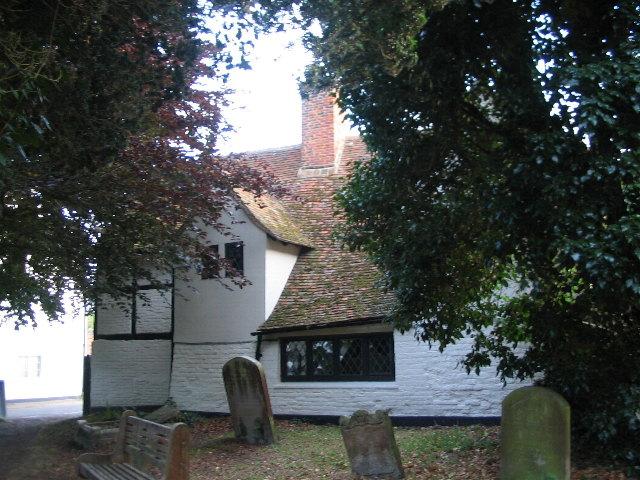 By Fordwich churchyard