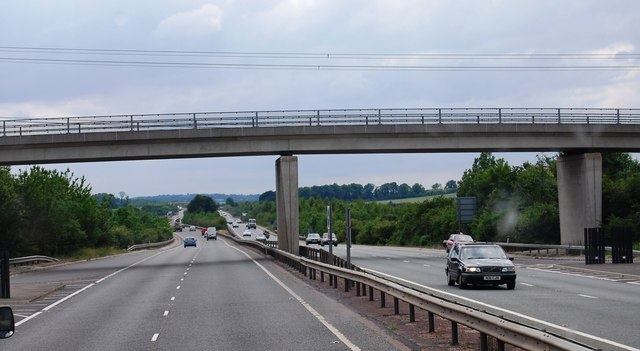 Mill Rd Bridge across the A11