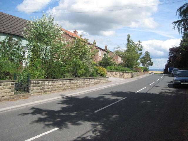 Leaving Burneston on B6285