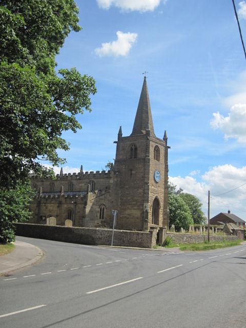 Burneston church St. Lambert's