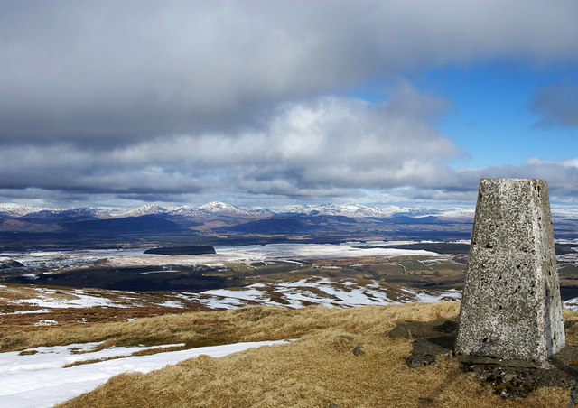 Earl's Seat Trig Point