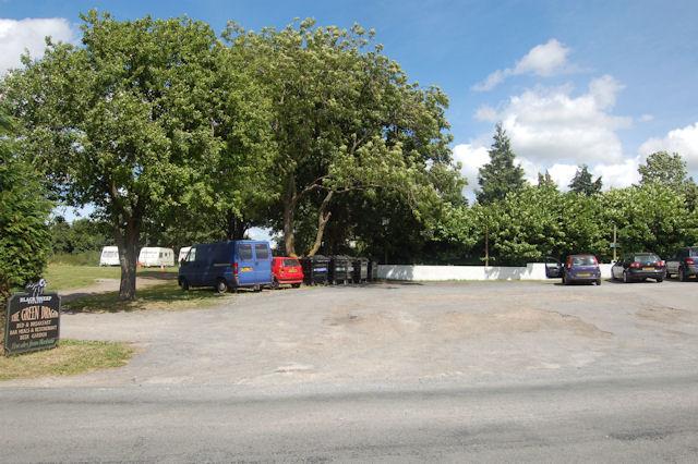 Green Dragon car park