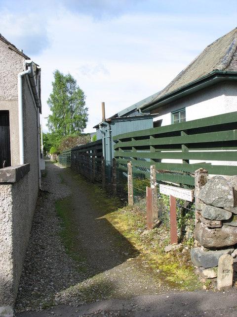 Back  o'Toon Lane, Comrie