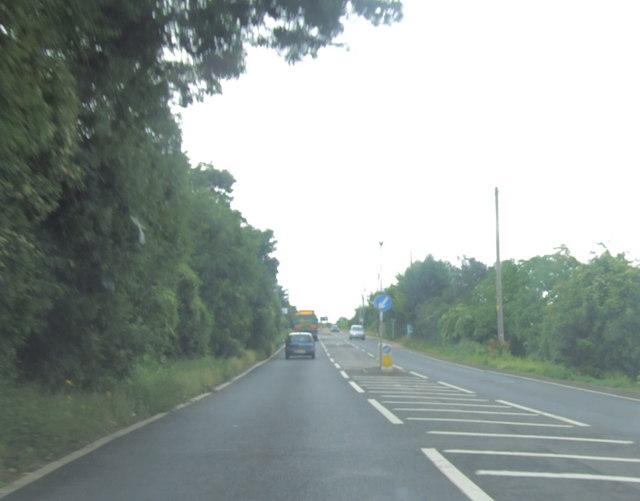 A228 Sundridge Hill, near Cuxton