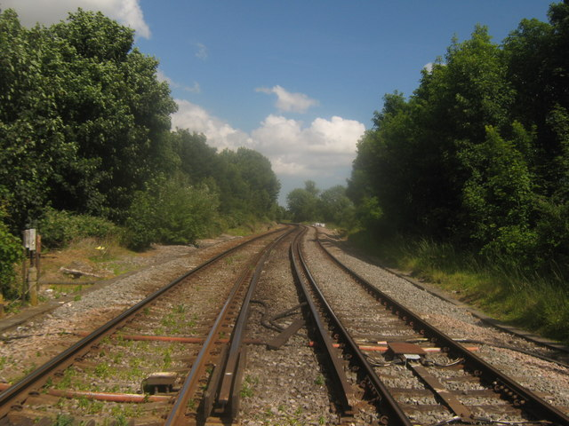 Railway to Minster and Ramsgate