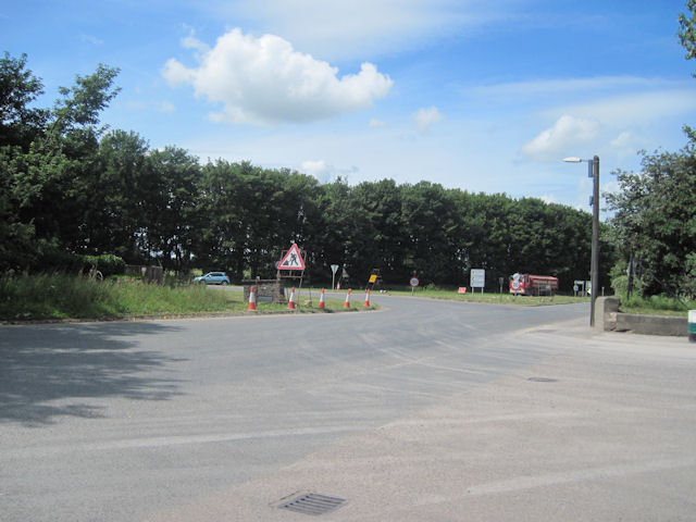 Road junction at Londonderry