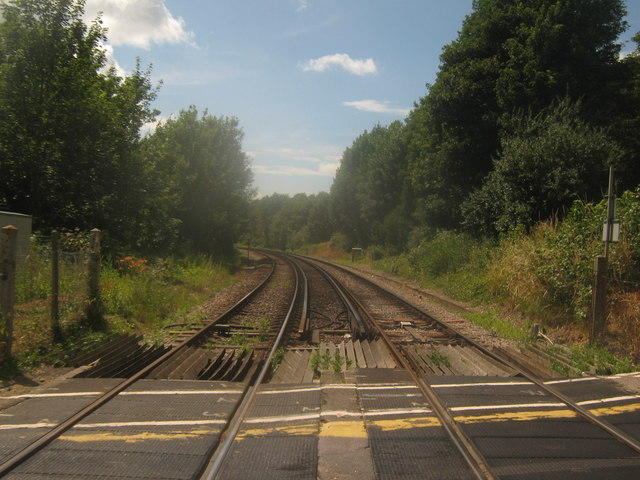 Railway to Sturry and Canterbury West