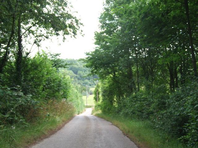 Upper Bush Road, near Cuxton