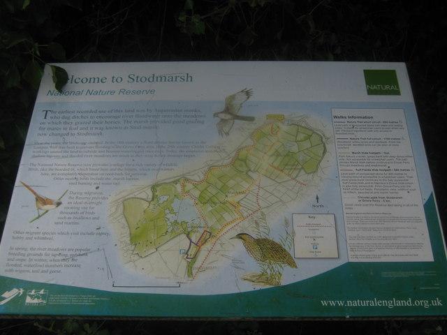 Stodmarsh Information Board
