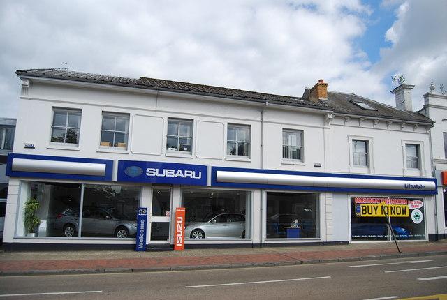 Subaru car dealership, Mount Ephraim
