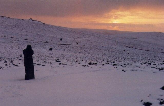 Winter sunrise, Bennett's Cross
