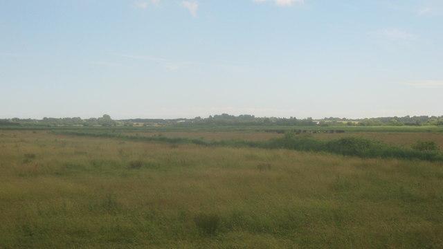 View across Stodmarsh Nature Reserve