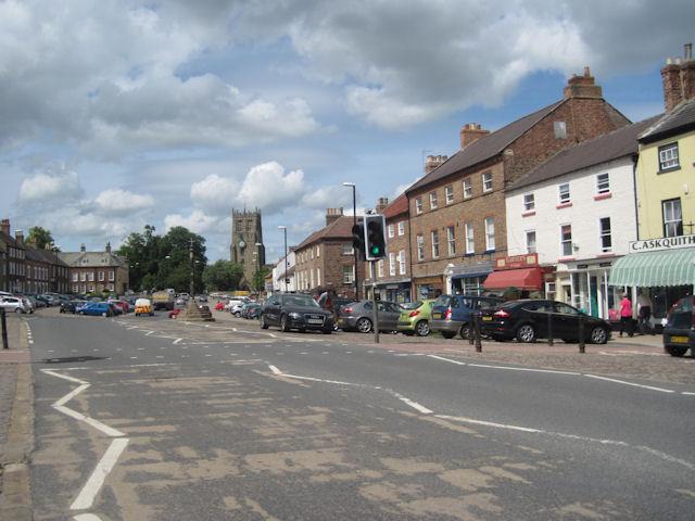 Bedale main street