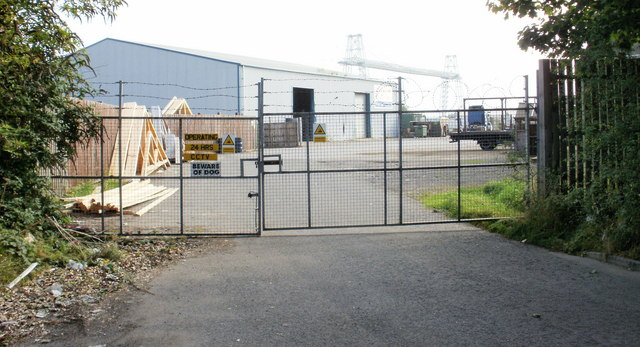 Unnamed business premises, Usk Way, Newport