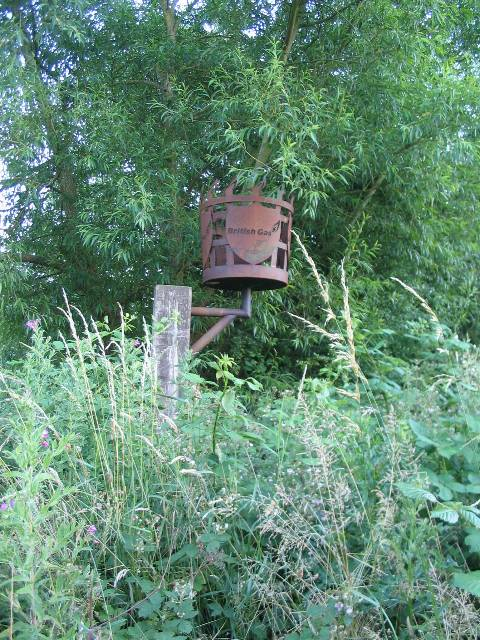 Rusting beacon, Fordwich