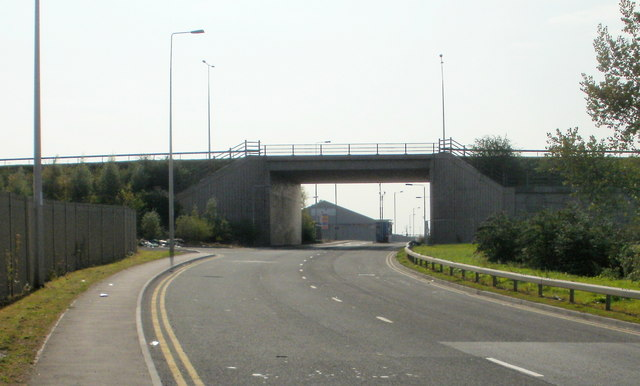 Newport Docks entrance, West Way Road, Newport