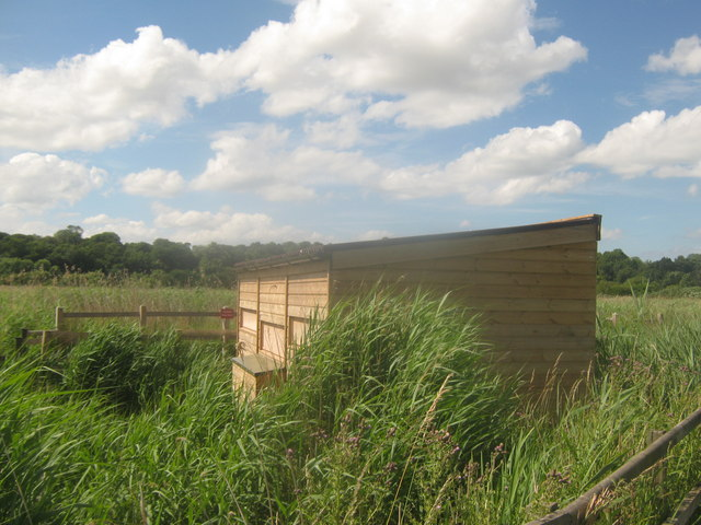 New Hide in Stodmarsh Nature Reserve
